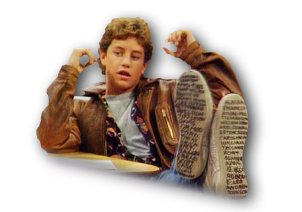 Mike Seaver - Kirk Cameron - Growing Pains - Funny Show